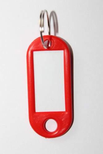 27. Bilétás kulcstartó - piros