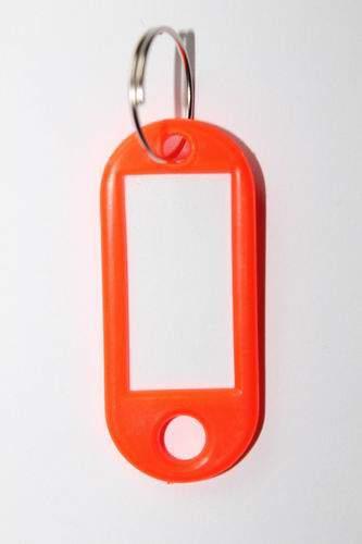 25. Bilétás kulcstartó - narancs