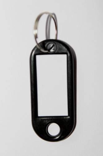 23. Bilétás kulcstartó - fekete