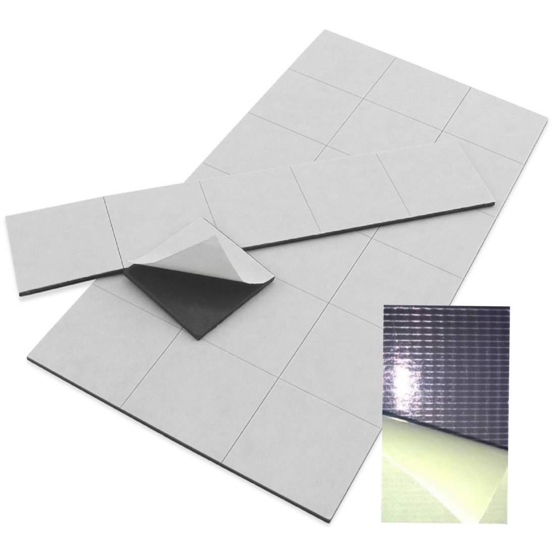 42. Öntapadó mágnesfólia (vágott) - 50x30mm