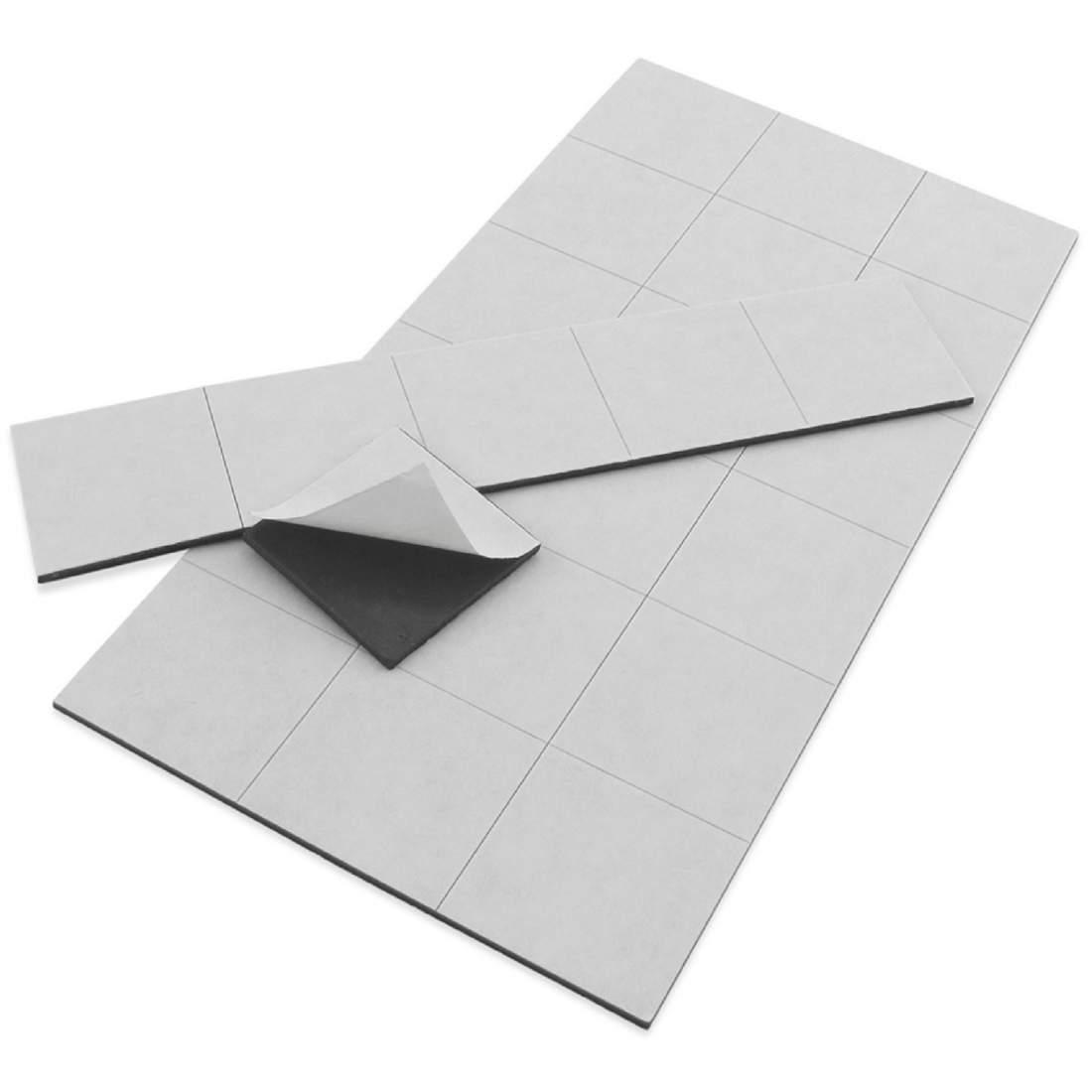 47.1 Öntapadó mágnesfólia (vágott) - 80x50mm